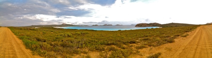 The track to Lucky Bay