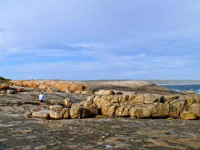 Rocky headland at Fanny Cove
